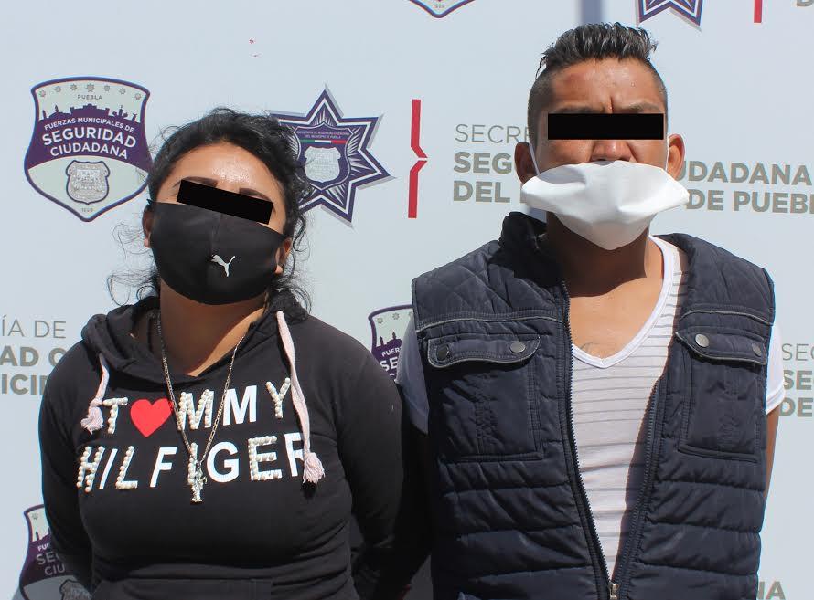 Laura y José Antonio roban en el CREE Madero