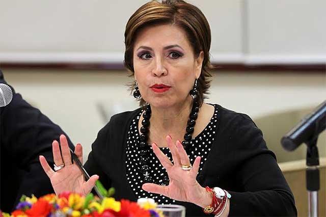 Dan luz verde para juicio político en contra de Rosario Robles