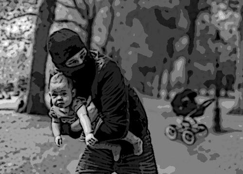 Sujetos raptan a niña cerca del mercado de El Carmen en Puebla