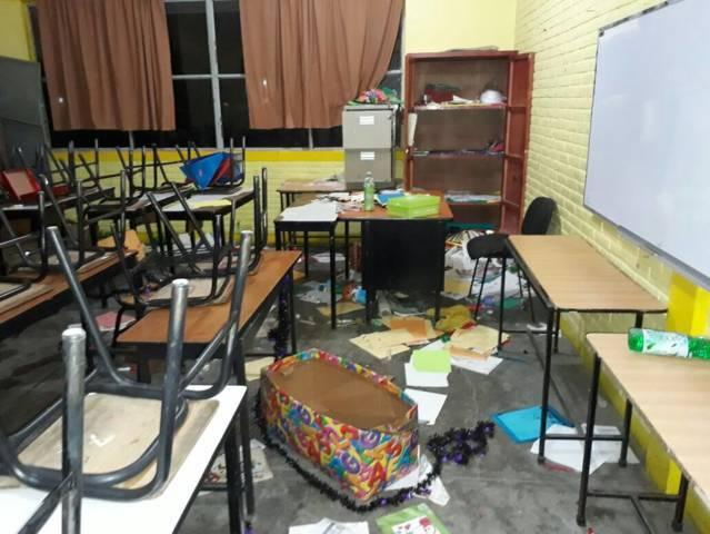 En pandemia han sido asaltadas 3 escuelas de San Pedro Cholula