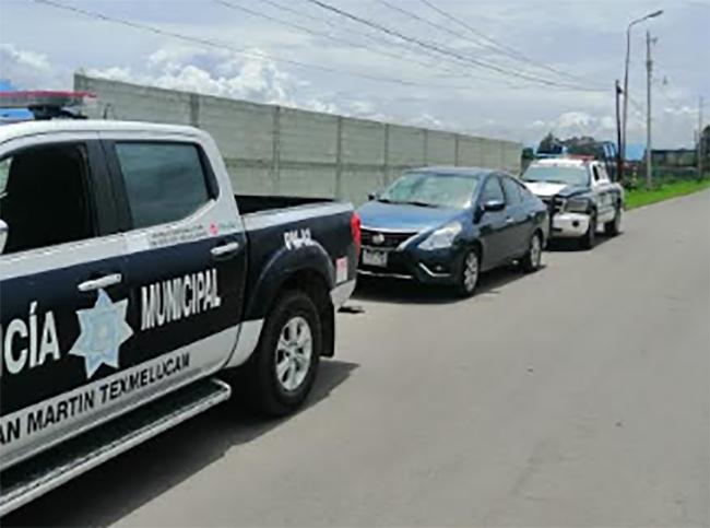 En Texmelucan asaltan a otro vendedor;  ladrones abandonan vehículo
