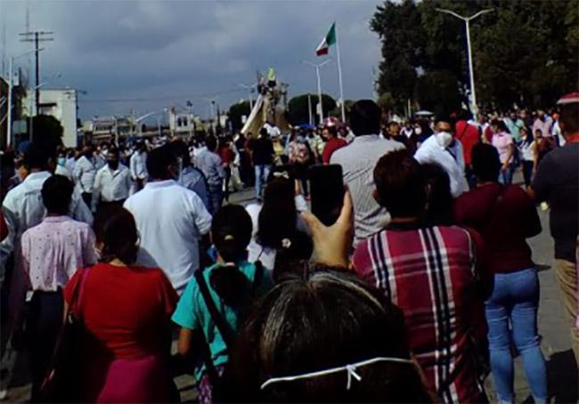 Devoción mueve a Huejotzingo para celebrar a San Miguel Arcángel