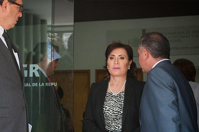 La venganza y la cobardía de unos me tienen en la cárcel: Rosario Robles
