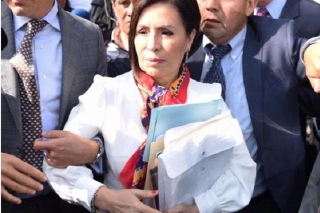 Los mensajes del caso Rosario Robles
