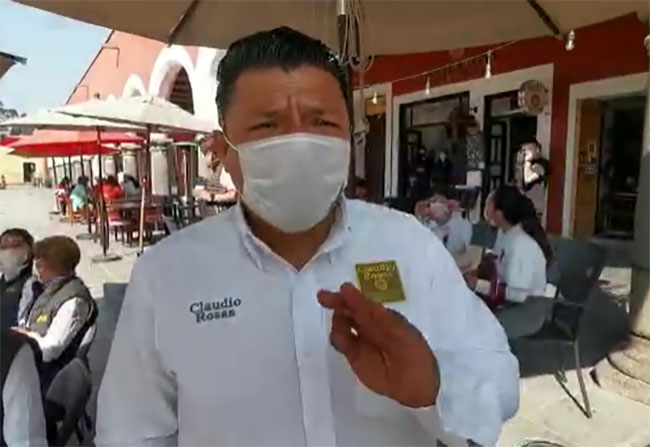Candidato a edil de San Pedro Cholula niega haber agredido a Laura Fernández