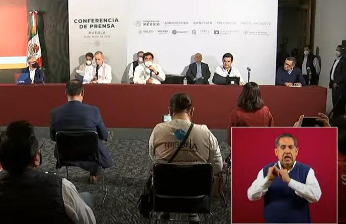 VIDEO López-Gatell presenta en Puebla el Modelo de Acción Comunitaria contra el Covid