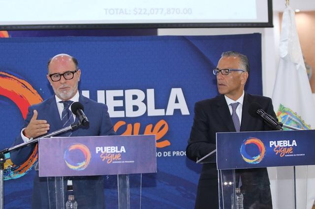 El capi Ruiz Esparza es el candidato del PVEM a la alcaldía de Puebla