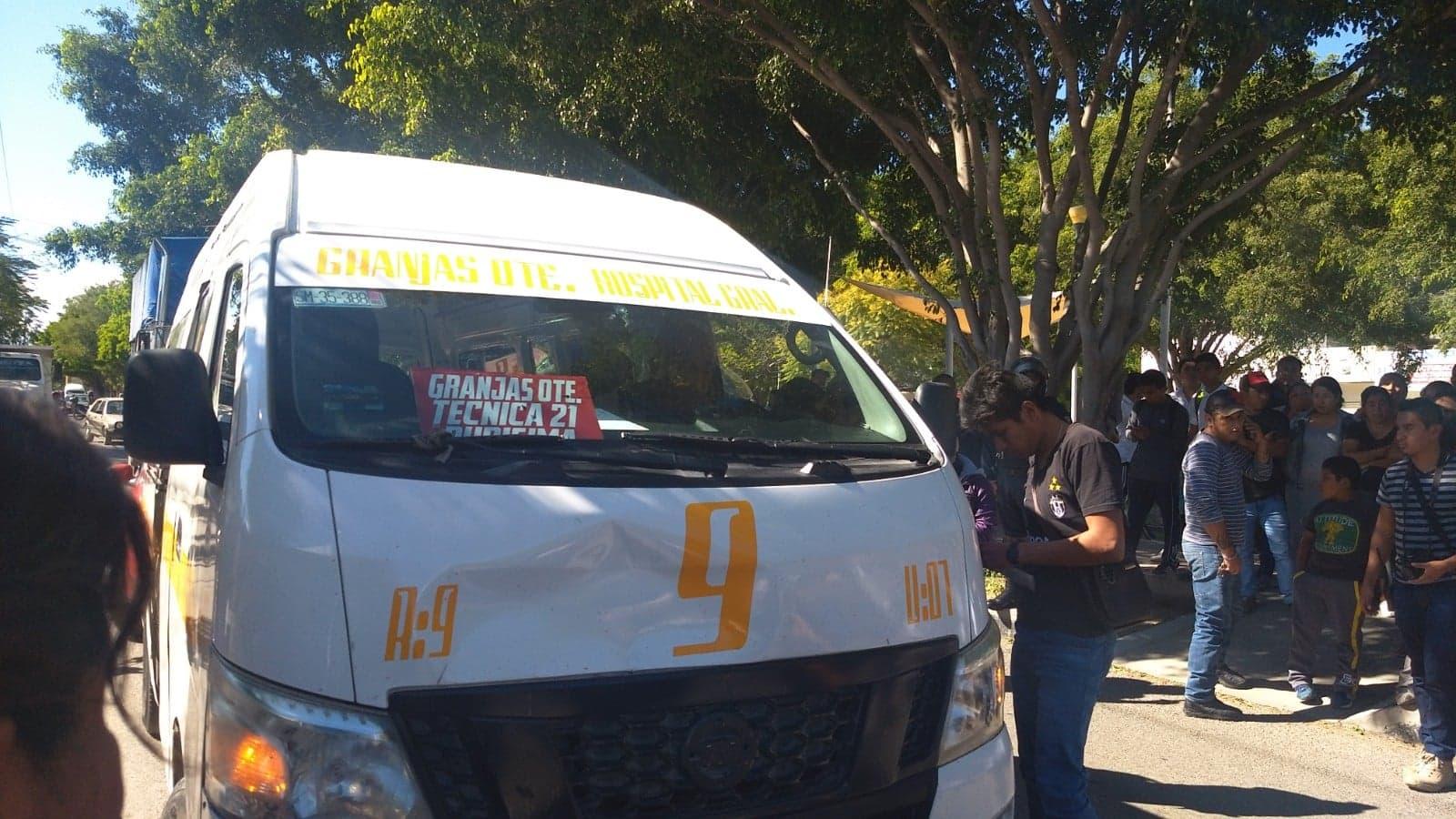 Transportistas de Tehuacán aplican tarifa de 6 pesos a estudiantes