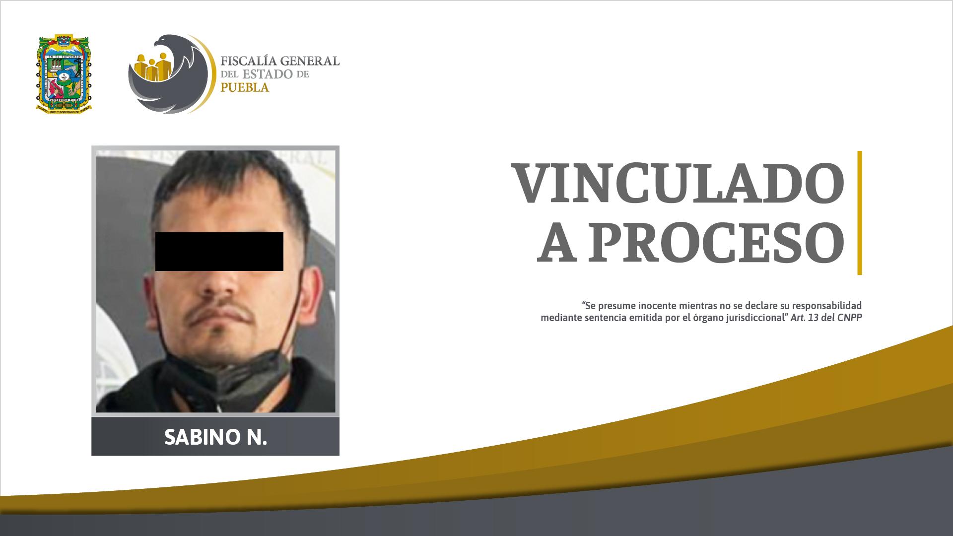 Sabino se va a prisión por plagiar y calcinar a un hombre en Venustiano Carranza