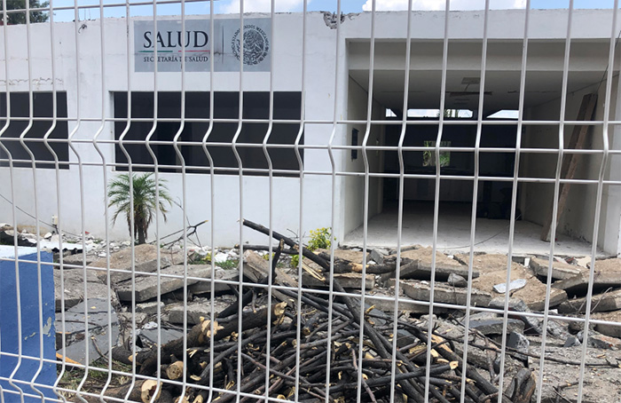 Arrancan trabajos de remodelación del Centro de Salud de Atlixco