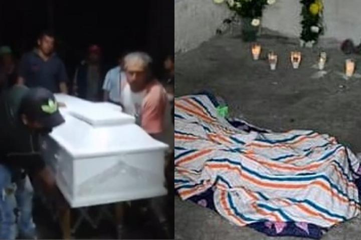 Por mil 550 pesos funeraria retiró el ataúd a la familia doliente
