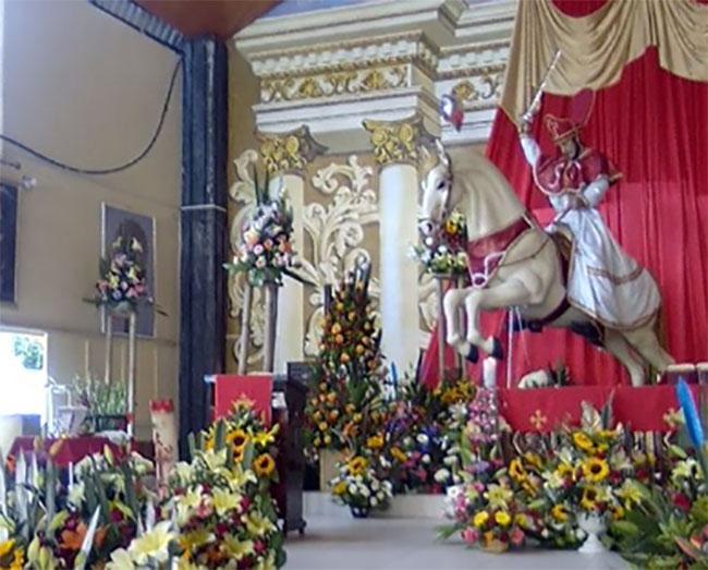 En Izúcar piden a Santiago Apóstol que el Covid se vaya