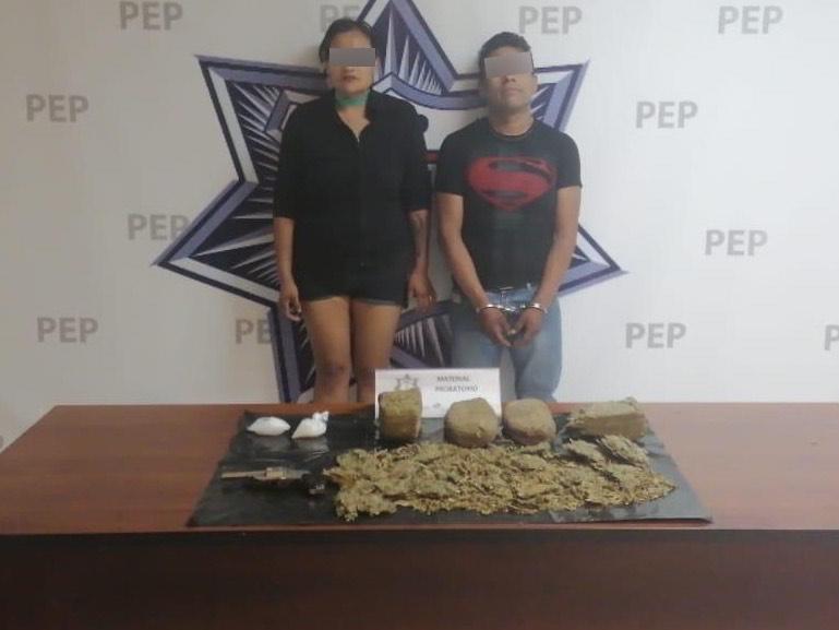 Detienen a distribuidores de droga de La Margarita y San Jorge con un arma