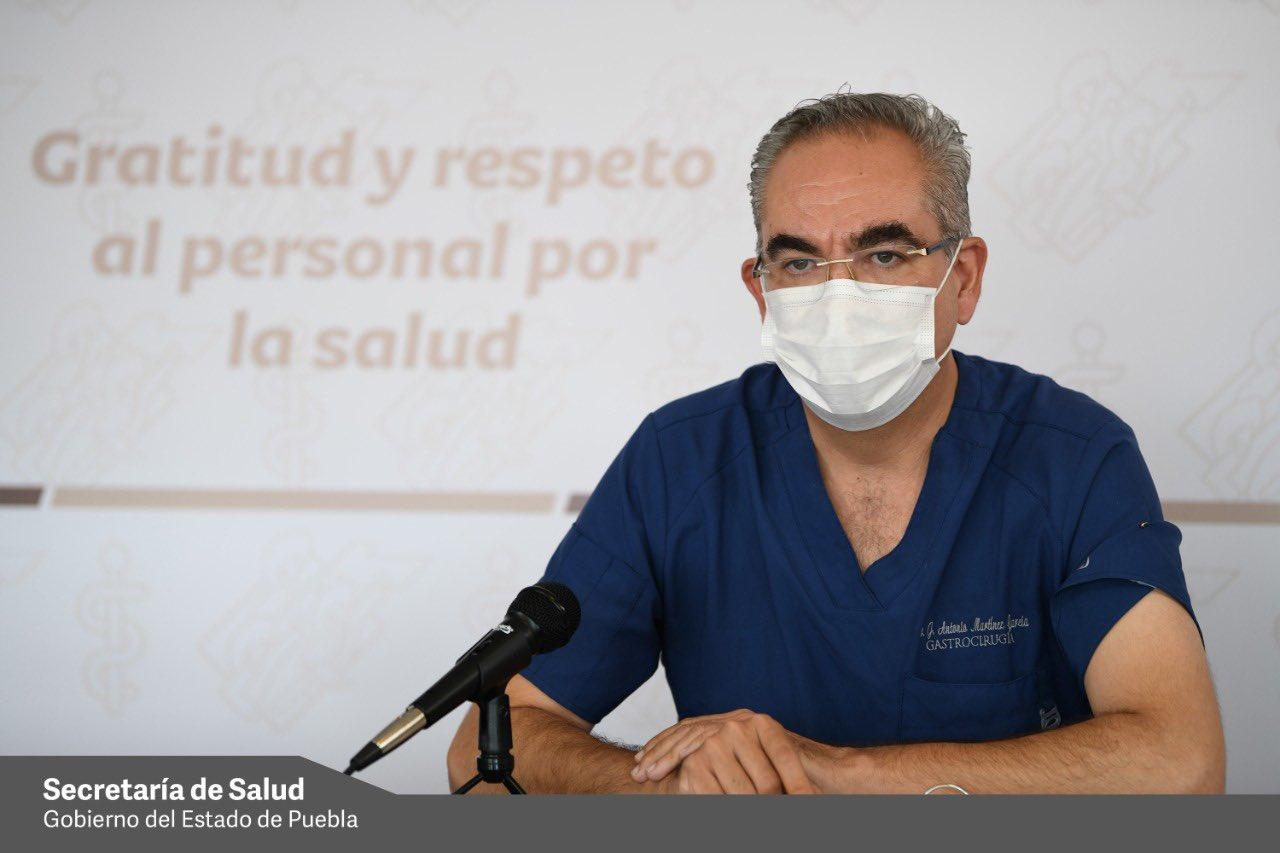 Registran hospitales del Sector Salud de Puebla más de 300 internos por Covid
