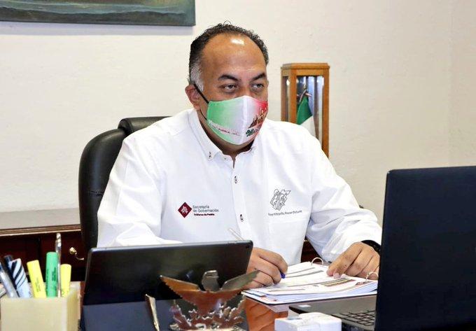 Se han contagiado de Covid 19 ediles en Puebla y 6 están activos: Segob