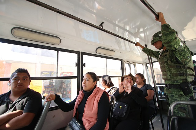 Unidades de transporte nunca se conectaron al C5: Aréchiga