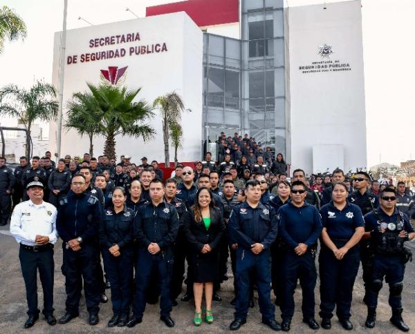 Cuautlancingo destinará 60 mdp a Seguridad: Guadalupe Daniel