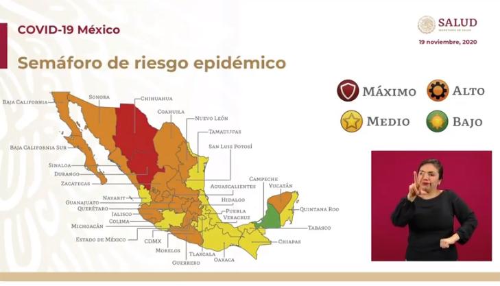 VIDEO México, cuarto en el mundo con más decesos por covid19