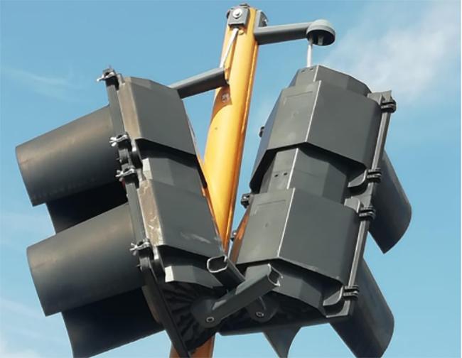 Vandalizan los semáforos y la señalética vial en Atlixco
