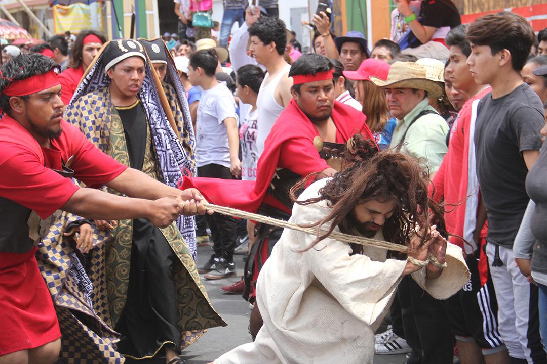 Municipios de Puebla listos para representaciones de Semana Santa