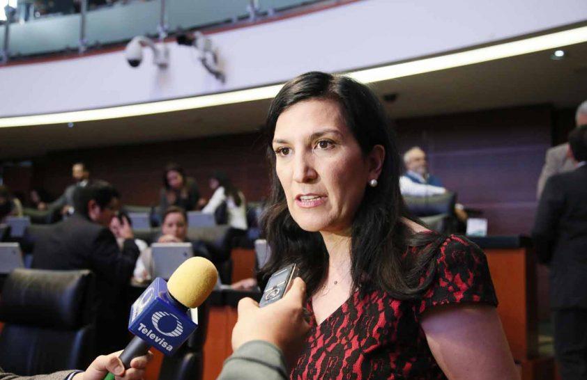 Kenia López, expuso problemáticas de México