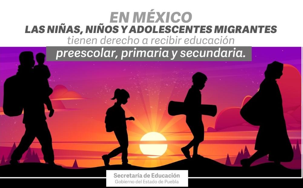 Garantiza SEP ingreso de niños migrantes al sistema educativo estatal