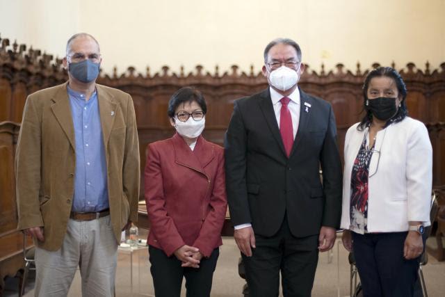 Inaugura Lilia Cedillo el 54 Congreso Nacional de la Sociedad Matemática Mexicana