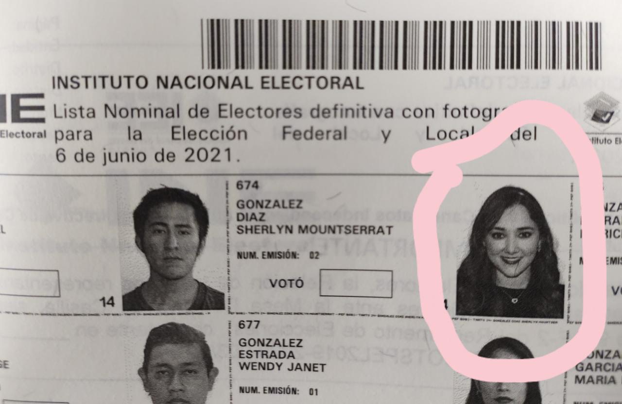 Un muerto y una actriz famosa, en lista nominal de electores de Izúcar