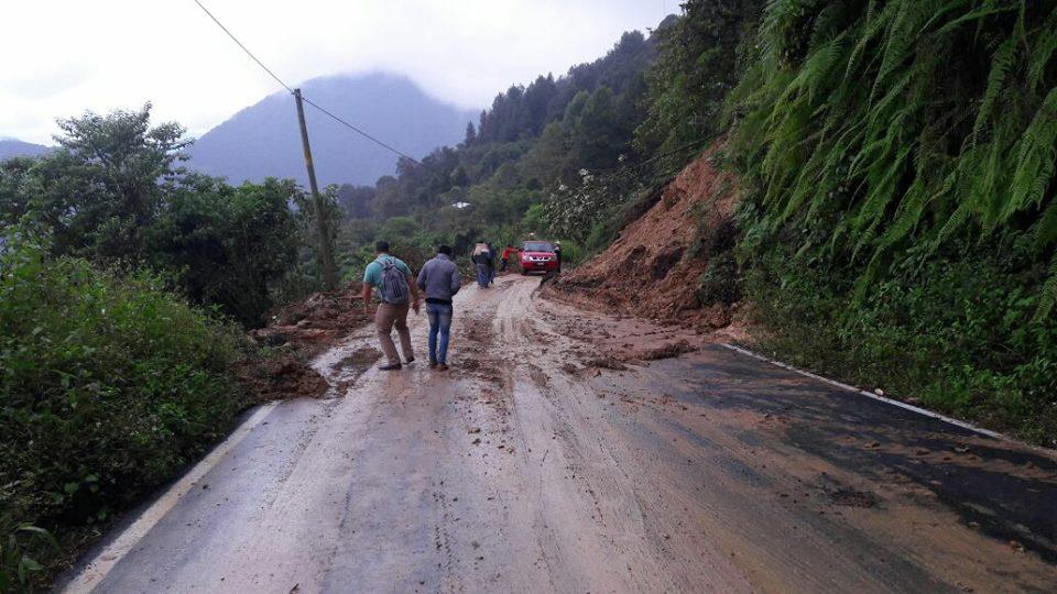 En riesgo más de 14 mil habitantes de Ajalpan por lluvias