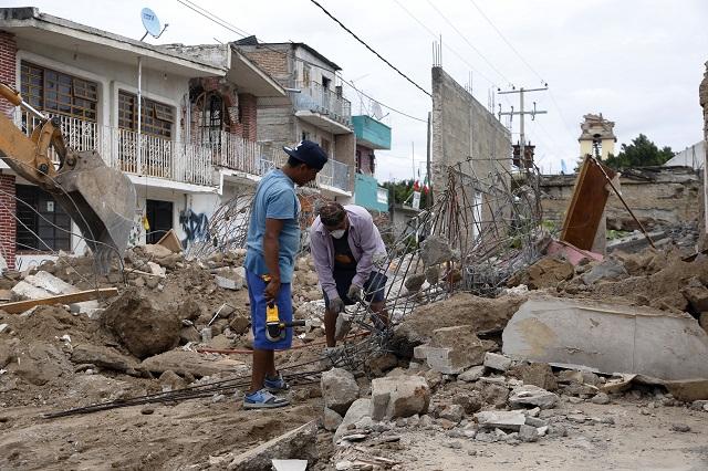 Galistas malversaron más de 100 mdp de la reconstrucción del 19s