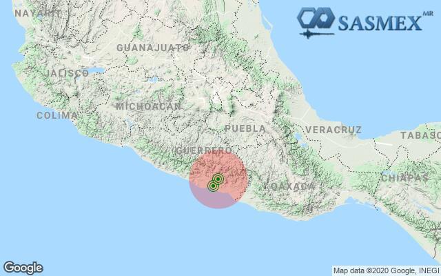 Nuevamente tiembla en Guerrero, imperceptible en Puebla