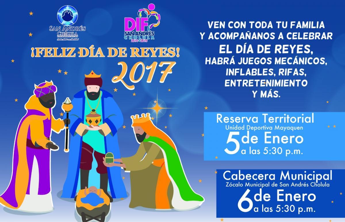 Día de Reyes en San Andrés Cholula