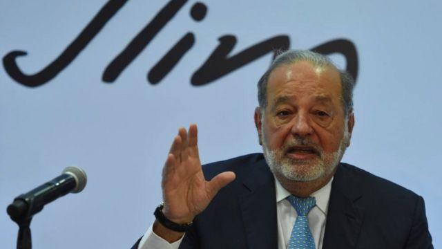 Carlos Slim tiene Covid, evoluciona de manera favorable