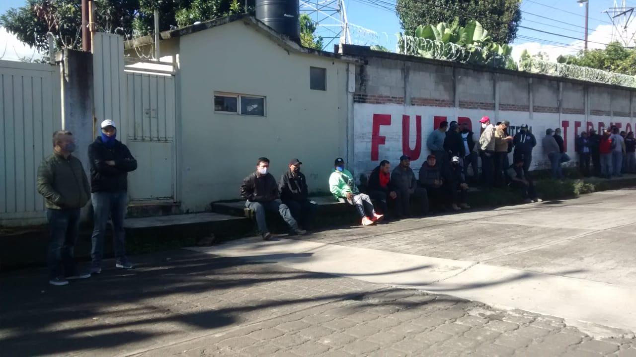 Estación de Zacamila no le corresponde al SME: disidentes de la dirigencia