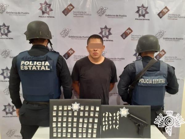 Capturan en Tehuacán a integrante de la banda de Los Socios