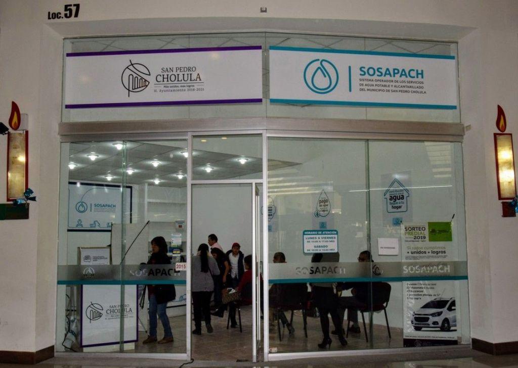 Sosapach invertirá 4.5 millones de pesos para infraestructura en Cholula