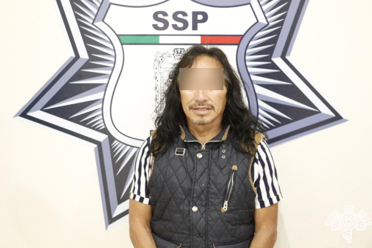 El Rigo robaba en Amozoc desde 1987, ya fue capturado