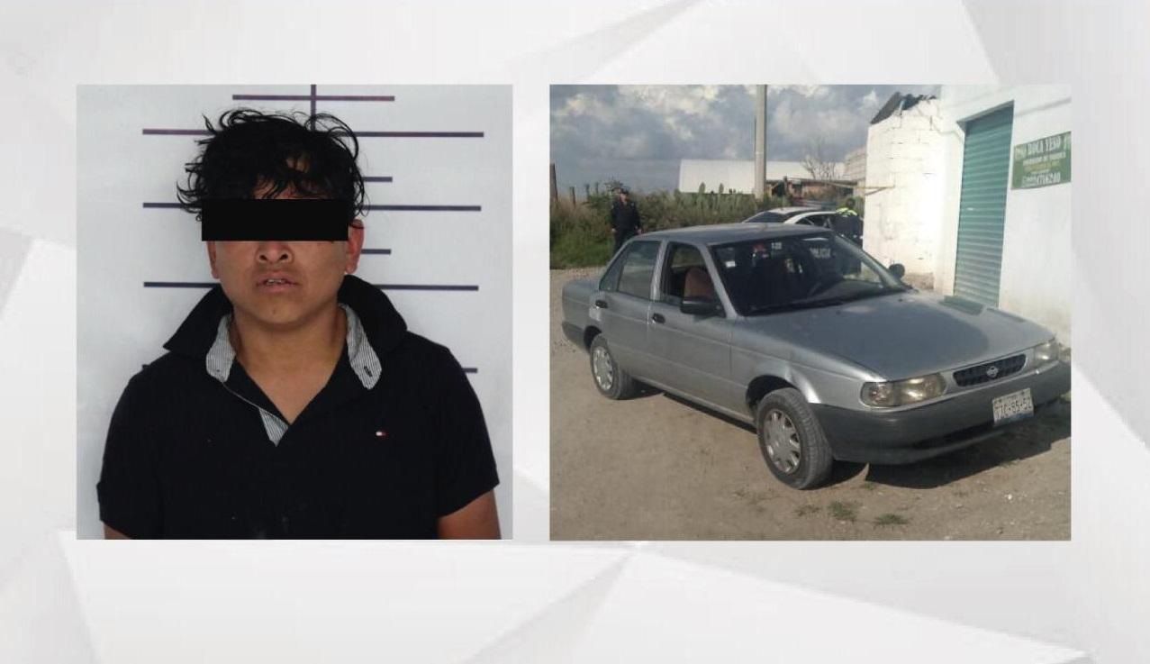 Los detienen cuando asaltaban casa de empeño en San Andrés Cholula