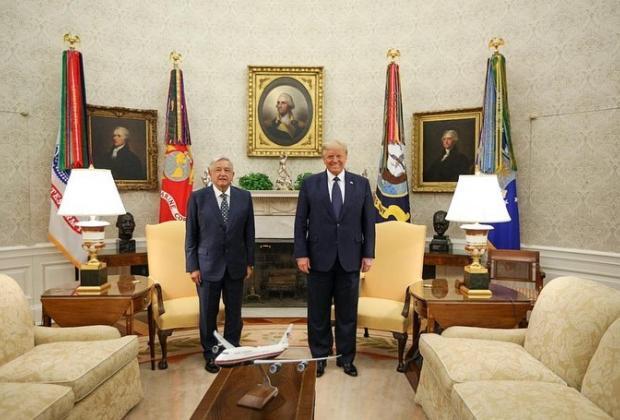 VIDEO Ofrecen AMLO y Trump declaración conjunta desde la Casa Blanca