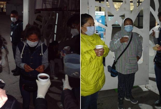Estudiantes se solidarizan con familias de pacientes Covid de Puebla
