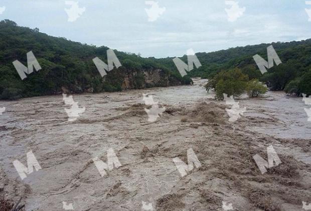 Tehuitzingo, en alerta por aumento del río Atoyac en 60%