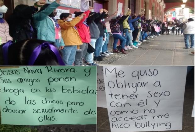 Serranas feministas de Puebla levantan la voz este 8M