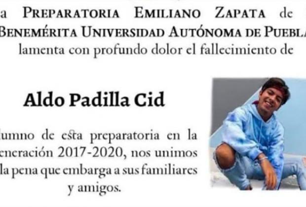 Juan Miguel fue detenido por el asesinato del estudiante Aldo