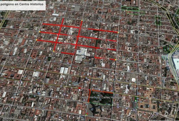 Comienzan reapertura paulatina de calles en el Centro Histórico