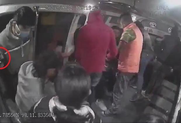 Antorcha Campesina involucrada en robo a transporte público en Puebla