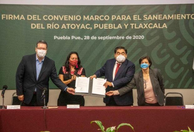 VIDEO Barbosa advierte sanciones a industrias que contaminen Río Atoyac
