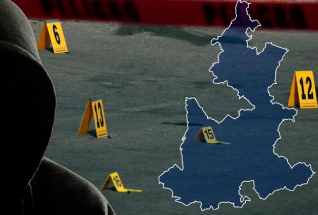 Semana de ejecutados en calles y frente a testigos en Puebla