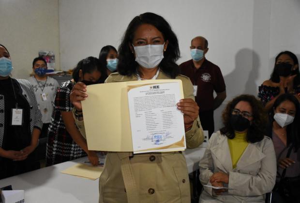 Ariadna Ayala ya es presidenta municipal electa de Atlixco