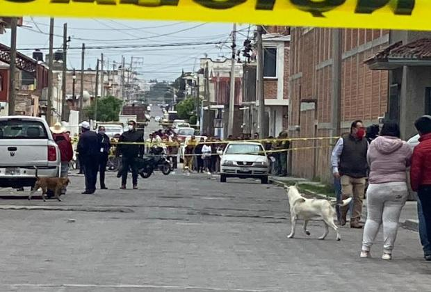 Balacera en calles de Huejotzingo deja un muerto