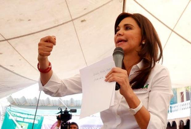 La priista Blanca Alcalá Ruiz da positivo a Covid-19